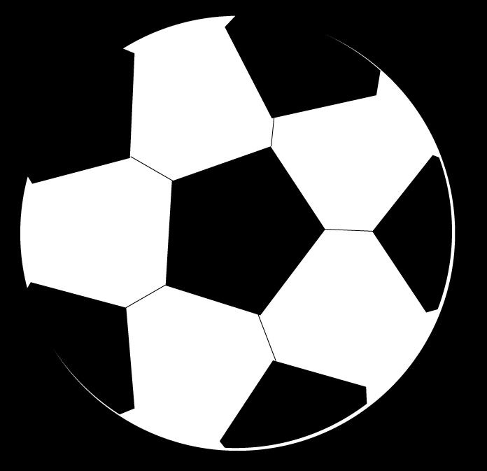 Soccer Ball Border Clip Art.