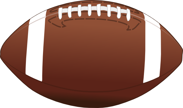 American Football Ball Clip Art PNG.
