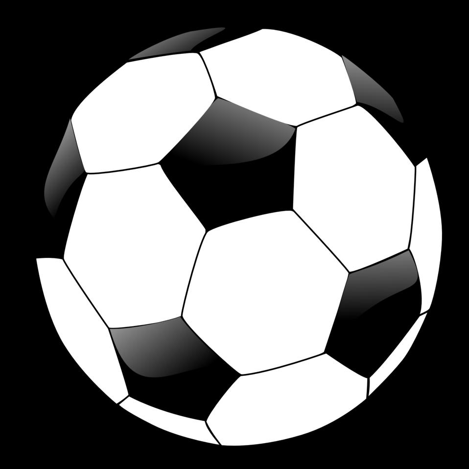 Soccer ball clip art 4.