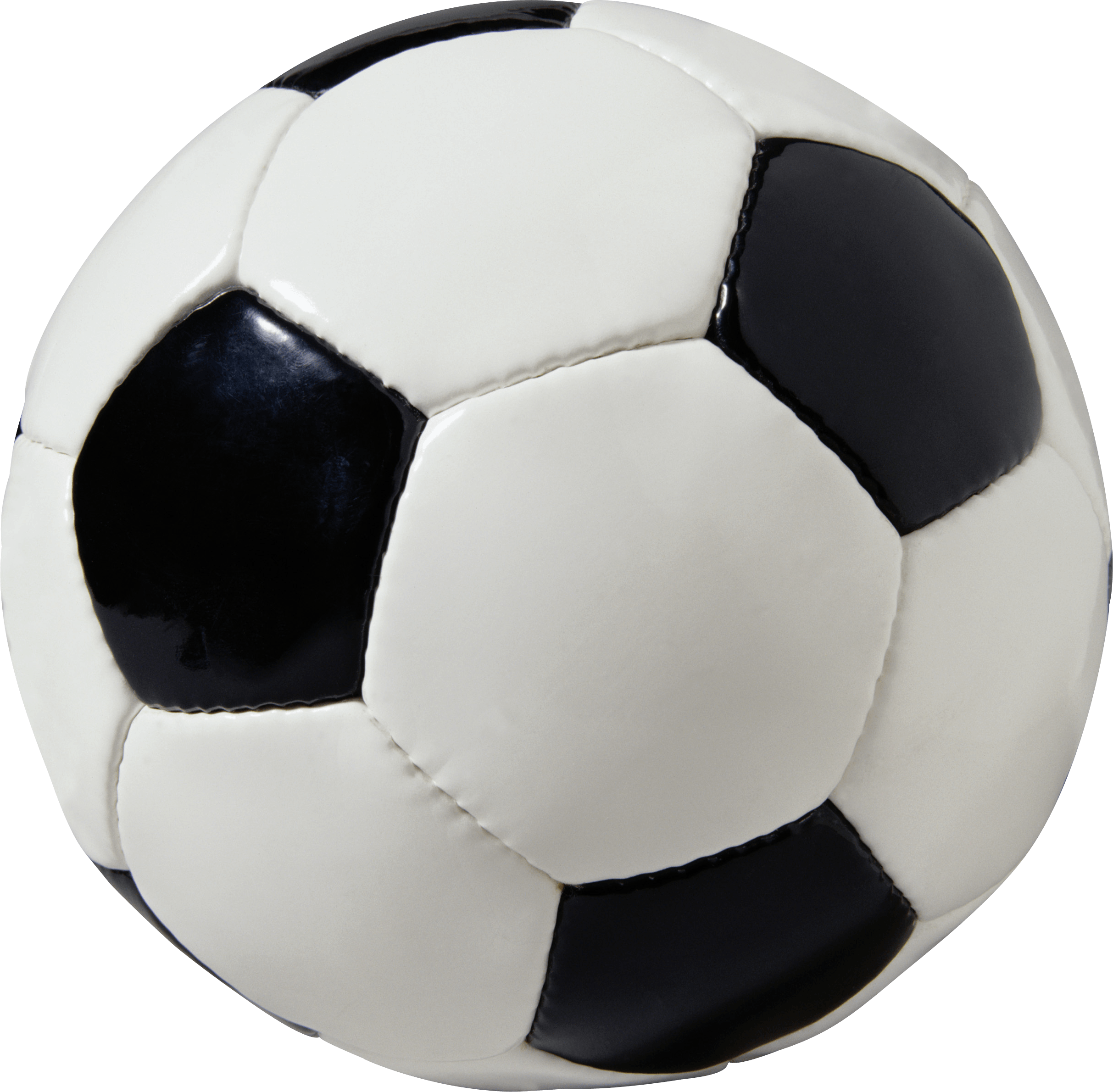 Leather Football Ball transparent PNG.