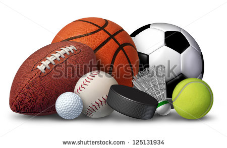 Sports Equipment Stock Images, Royalty.