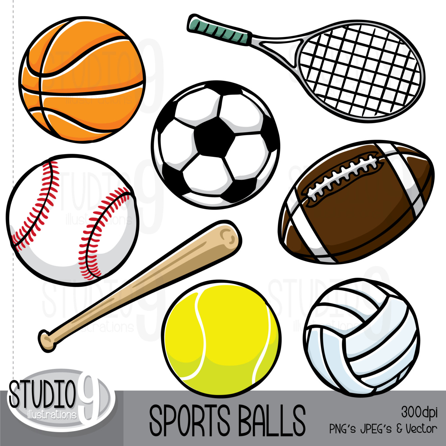 SPORTS Clip Art: Sports Download Football Clipart Soccer.