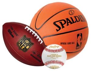 Baseball Football Basketball Clipart#2016300.