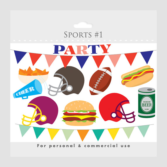 Football birthday clipart » Clipart Station.