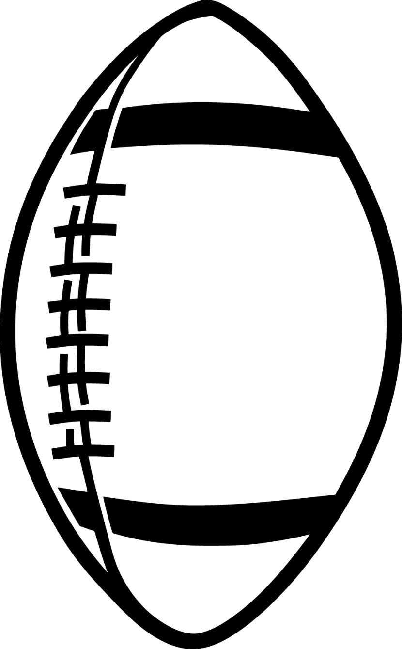 Football black and white football clipart black and white.