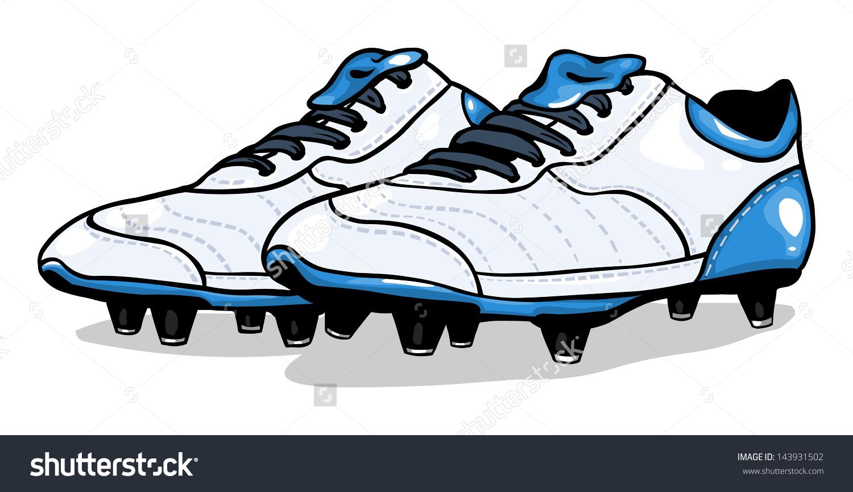 Football boots clipart #5