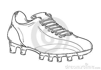 Cartoon Football Boots Stock Photos, Images, & Pictures.