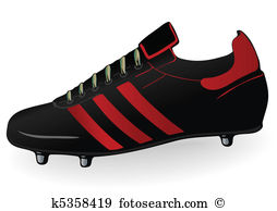 Football boot Clip Art Royalty Free. 965 football boot clipart.