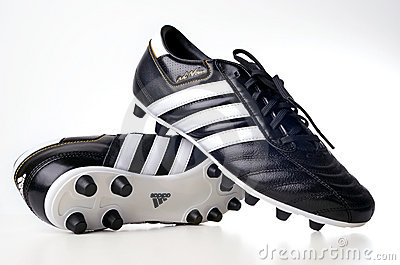 Adidas Football Boots Editorial Stock Photo.