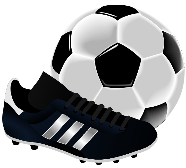 Football boots clipart #6