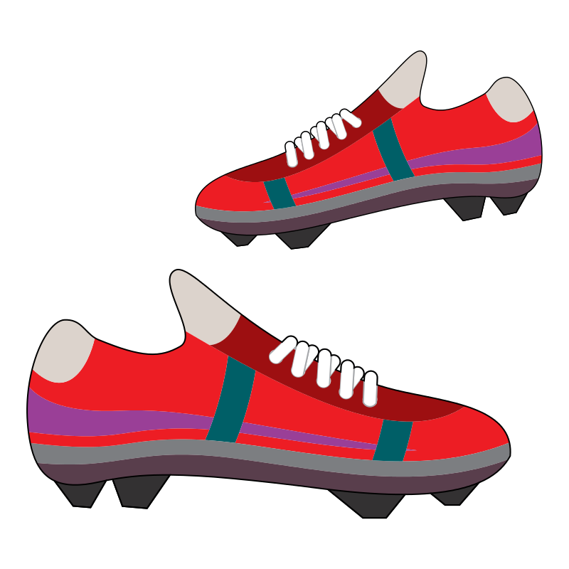 Football Boot Clipart.