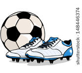 Free football boots clipart vectors.