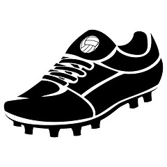 Football boots clipart #20