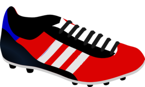 Clipart Football Boots.