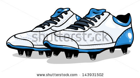 Football boots clipart #12
