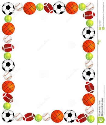 Free sport clipart borders.