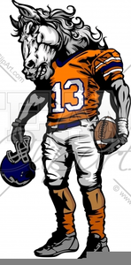 Football Characters Clipart.