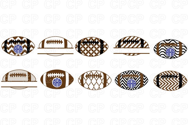 Free Football Bundle SVG Cut Files, Football Clipart Crafter.
