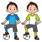 Kid Football Player Clipart.
