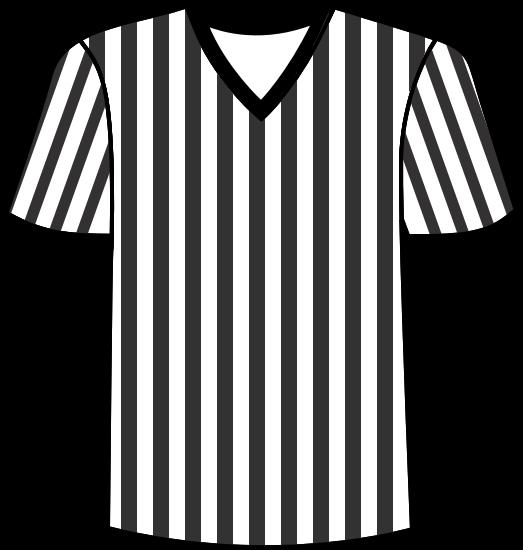 referee jersey football clipart.