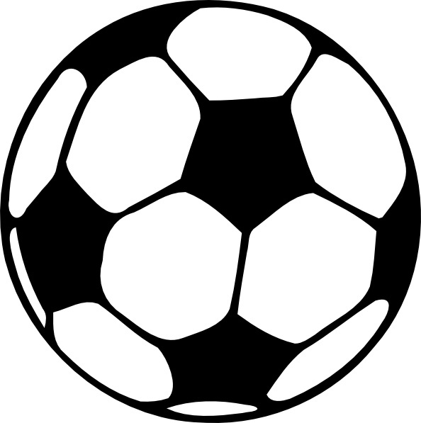 Football Ball clip art Free vector in Open office drawing svg.