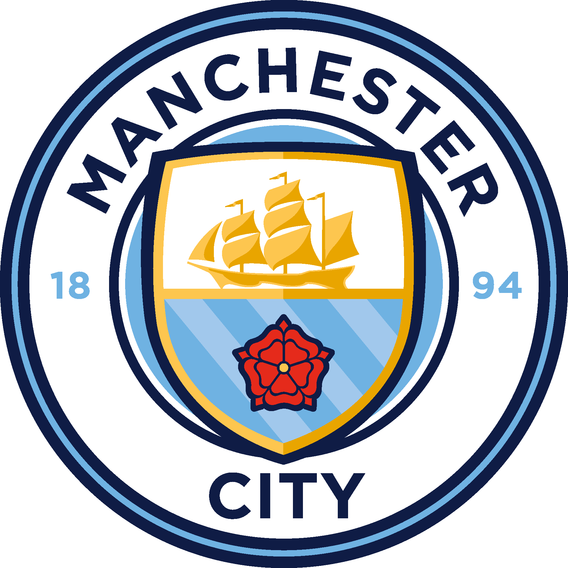 Manchester City Football Club Logo [EPS File] Vector EPS.