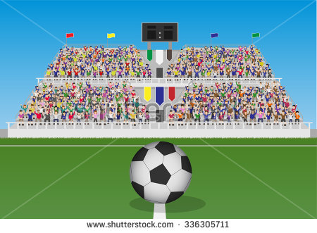 Football Crowd Clipart (30+).