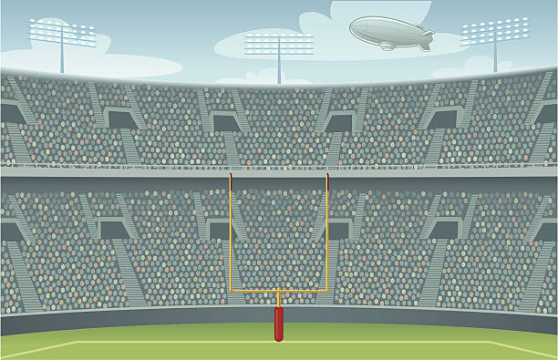 Stadium Crowd Clip Art, Vector Images & Illustrations.