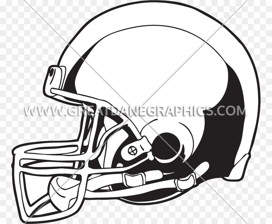 Cartoon PNG American Football Helmets T.