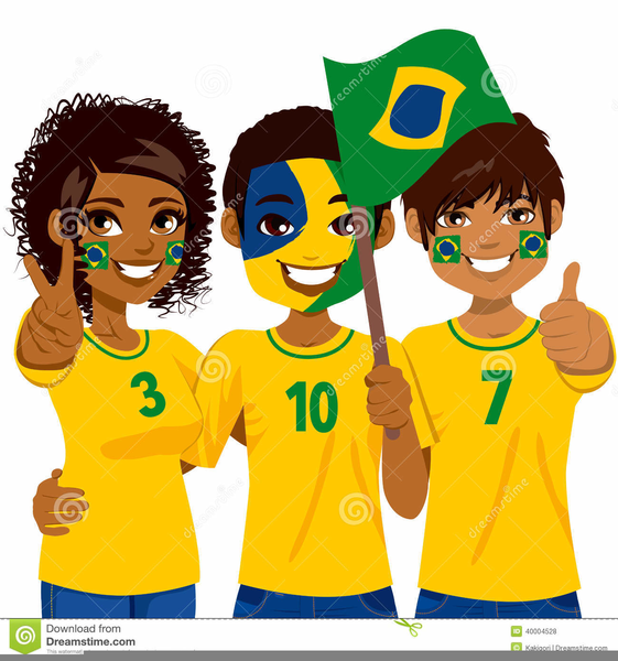 Free Clipart Football Fans.