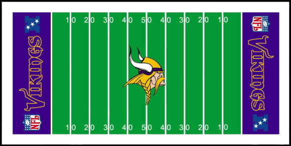 Chiefs football field clipart.