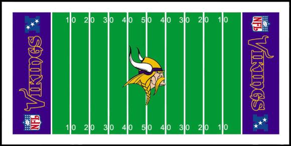 Chiefs football field clipart.