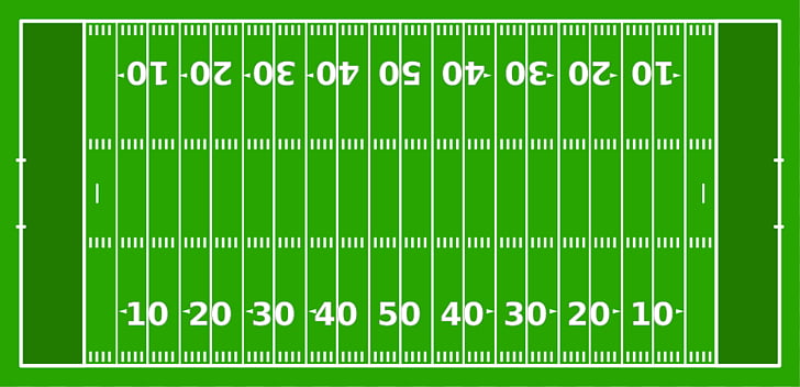 American football field End zone Gridiron football Hash.