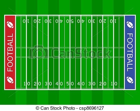 Football Field Clip Art.