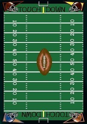 football field numbers clipart #10