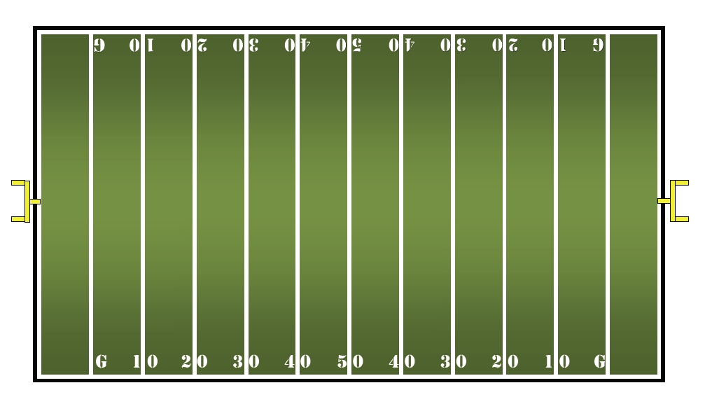 football field numbers clipart #9