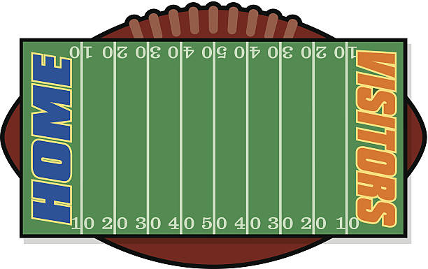 Football Field Numbers Clip Art, Vector Images & Illustrations.