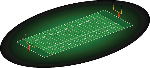 football field numbers clipart #2