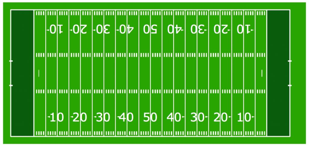 football field numbers clipart #12