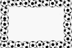 Football border clipart free 1 » Clipart Portal.