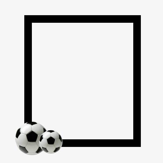 Soccer Frame, Soccer Clipart, Frame Clipart, Football PNG.