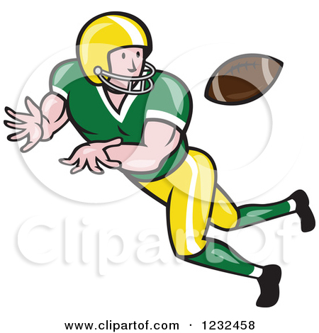 American Football Game Clip Art.