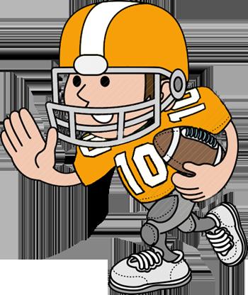 USA Football Game Clip Art.