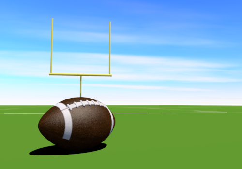 American football game clipart.