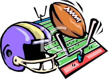 Football game clipart free.