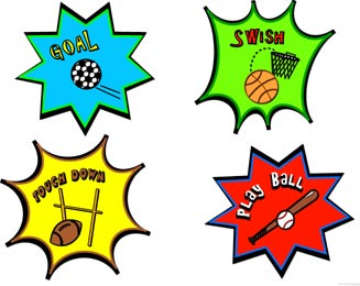 Football Game Clipart.