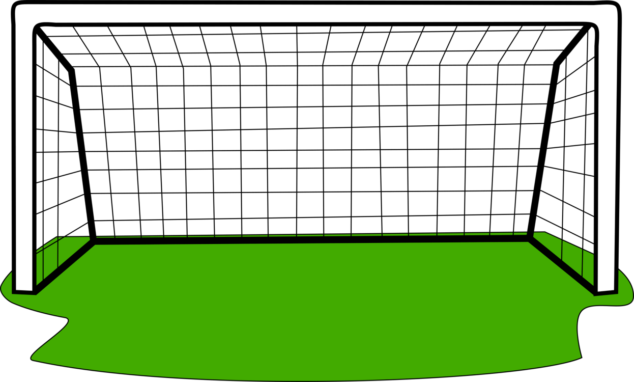 Football Goal Post Drawing.