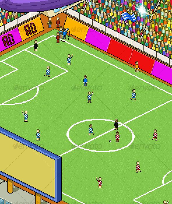 Football Stadium Clipart.