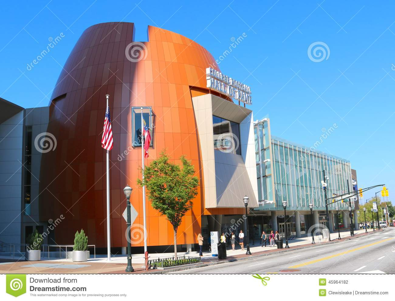 College Football Hall Fame Atlanta Stock Photos, Images.