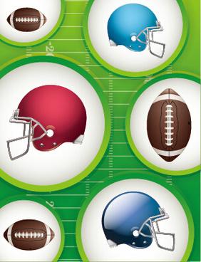 American football ball clip art free vector download.
